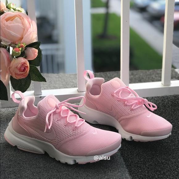 bffe5c1529ec NWT Nike Presto FLY Prism Pink WMNS